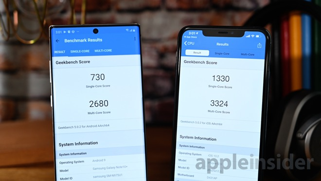 iphone 11 pro max vs note 10 plus