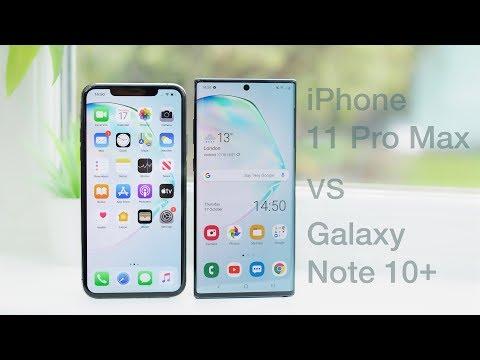 iphone 11 pro max vs note 10 plus